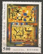 Timbres - France - 1990 - N° 2672 - Jaune Et Gris BISSIERE - - Francia
