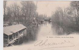 CÖTE D'OR - 32 - DIJON - L'Ouche, Vue Du Pont Hoche  ( - Carte Pionnière - Timbre à Date De 1904 ) - Dijon