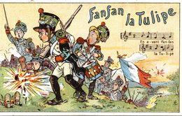 FANFAN LA TULIPE - Trade Cards