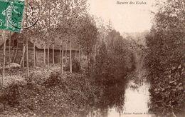 ROMILLY – Les Bords De La Rivière Des Ecoles – Circulé En 1909 - Romilly-sur-Seine
