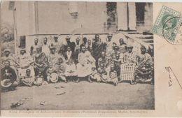 CPA SEYCHELLES Mahé Le Roi King Prempeh Of Ashanti Political Prisoner From Ghana Gold Coast & Followers 1904 - Seychelles