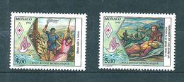 Monaco Timbres De 1990  Neufs** N°1720/21 Croix Rouge - Neufs