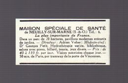 Coupure De Presse (1930) : MAISON SPECIALE DE SANTE De NEUILLY SUR MARNE - Vieux Papiers