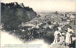 ESPAGNE -- ALHAMBRA Y CIUDAD - Espagne