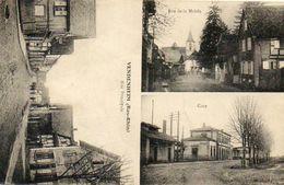 CPA - VENDENHEIM (67) - Carte Multi-Vues De 1924 - Gare - France