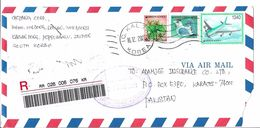 Korea Registered Airmail 1340 1997 Airplane, 400 Korea Bird, 40 - Corée (...-1945)