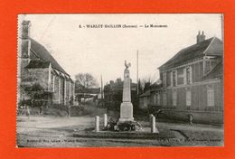 WARLOY-BAILLON - Le Monument - 1931 - - France
