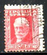 ESPAGNE. N°505 Oblitéré De 1931. Pablo Iglesias. - 1931-50 Usati