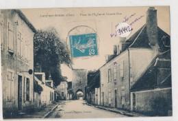 CPA -34442-18 - Lury Sur Arnon - Place De L'Eglise Et Grande Rue - Autres Communes