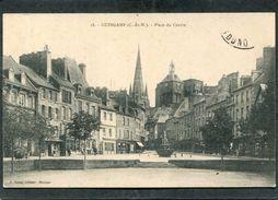 CPA - GUINGAMP - Place Du Centre - Guingamp