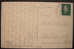 1931 Deutsches Reich Bahnpost Oranzahl Oberwiesen - Covers & Documents