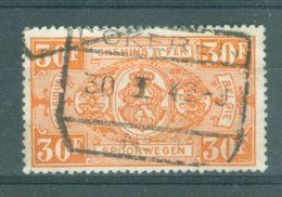 """BELGIE - TR 257 - Cachet   """"LOKEREN Nr 1"""" - (ref. 16.030) - Chemins De Fer"""