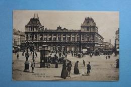 Bruxelles La Gare Du Nord - Chemins De Fer, Gares