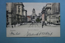 Bruxelles Rue De La Régence (colorisée) - Lanen, Boulevards