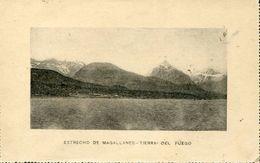 27216 Argentina,circuled  Card 1899 With The Strait Of Magellan, Stretto Di Magellano,estrecho De Magallanes Tierra Fueg - Géologie