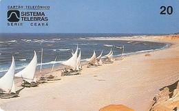 *BRASILE* - Scheda Usata - Barche