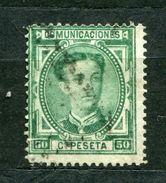 Spanien Nr.161         O Used       (514) - 1875-1882 Kingdom: Alphonse XII