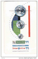 Slovaquie 1999, Slovak Telecom Chip, 18/99, 8th World Telecom,  Used - Slowakei