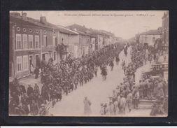 Souilly 1916 - Prisonniers Allemands Défilant Devant Le Quartier Général - Verdun