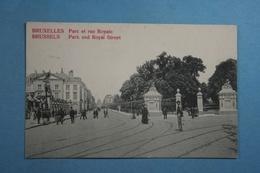 Bruxelles Parc Et Rue Royale - Forêts, Parcs, Jardins