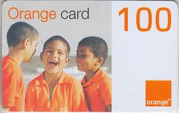 DOMINICAINE - TÉLÉCARTE - GSM & RECHARGE ***  ORANGE - 100 *** - Dominicana