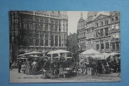 Bruxelles Grand'Place Marché Aux Fleurs - Marchés