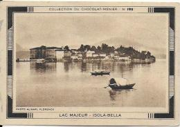 LAC MAJEUR .- ISOLA BELLA  - Chocolat Menier - Menier