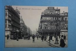 Bruxelles Place De La Bourse (tram) - Marktpleinen, Pleinen