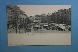 Bruxelles Place Du Grand Sablon - Marchés