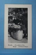 Bruxelles La Marchande De Fleurs - Old Professions