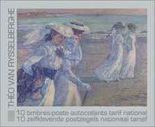 BELGIUM, 2013, Booklet 138, Theo Van Rysselberghe, Painter, Mi 4369/78 - Booklets 1953-....