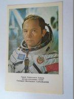 D154173  SPACE  URSS - Gennadiy Vassilievitsch Sarafanov -  SOVIET COSMONAUT/SPACEMAN/ASTRONAUT  1978 - Espace