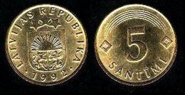 LETTONIE - LATVIJAS 10 SANTIMU (1992) - Lettonie