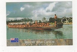 Maori War Canoe New Zealand Postcard 902a - Non Classés