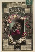 FANTAISIE BONNE ANNEE CALENDRIER BELLONE 4073 - Nouvel An