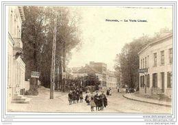 PERUWELZ ..-- La Verte Chasse . 1908 Vers MOLENBEEK ( Mr Charles SAUVAL ) . Voir Verso . - Péruwelz