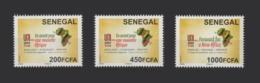 SENEGAL 4EME 4TH 4 CONFERENCE UNI AFRICA BANK BANQUE FINANCE GLOBAL UNION MAP CARTE AFRIQUE 2017 RARE MNH - Sénégal (1960-...)