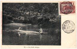 CONGO FRANCAIS - La Forêt Vierge   (Recto/Verso) - Congo Français - Autres
