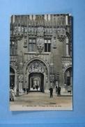 Bruxelles Portique De L'Hôtel De Ville - Monumenten, Gebouwen