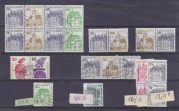 Germany Definitives Frm Booklets  (see Sca) Used (36935) - [7] West-Duitsland