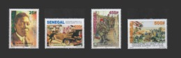 SENEGAL 2014 CENTENAIRE DE LA GRANDE GUERRE - WORLD WAR I CENTENARY WWI WW1 -  FULL SET MNH WITH MARGIN - Sénégal (1960-...)