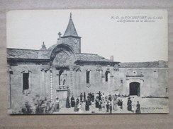 GARD 30   ROCHEFORT DU GARD  -   N.-D.  ,  ESPLANADE DE LA MADONE       TRES   ANIME    TTB - Rochefort-du-Gard