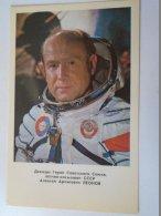 D154190 Aleksey   LEONOV -  SPACE  URSS - SOVIET COSMONAUT/SPACEMAN/ASTRONAUT  1978 - Espace