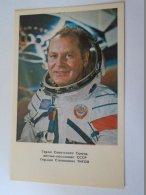 D154197 GHERMAN TITOV   -  SPACE  URSS - SOVIET COSMONAUT/SPACEMAN/ASTRONAUT  1978 - Espace