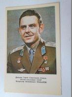 D154199 Vladimir KOMAROV   -  SPACE  URSS - SOVIET COSMONAUT/SPACEMAN/ASTRONAUT  1978 - Espace