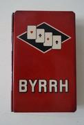 Boite Métal Pour Jeu De Carte BYRRH - Boîtes