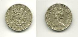 ROYAUME UNI - GRANDE BRETAGNE - ONE POUND (1983) - 1971-… : Monnaies Décimales