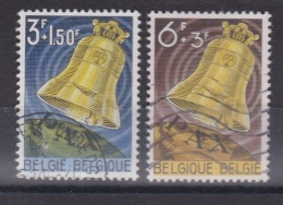 BELGIQUE  :  Yvert  1241 1242   (o)   Cote  3,25  Euros - Oblitérés