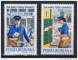 Romania 1982. Post Womans / Stampday Set MNH (**) Michel: 3905-3906 / 0.90 EUR - 1948-.... Republics