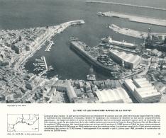 Photo, Le Midi Méditerranéen (1966) : La Ciotat, Le Port Et Les Chantiers Navals, Pétrolier, Hangars, Ateliers... - Vieux Papiers